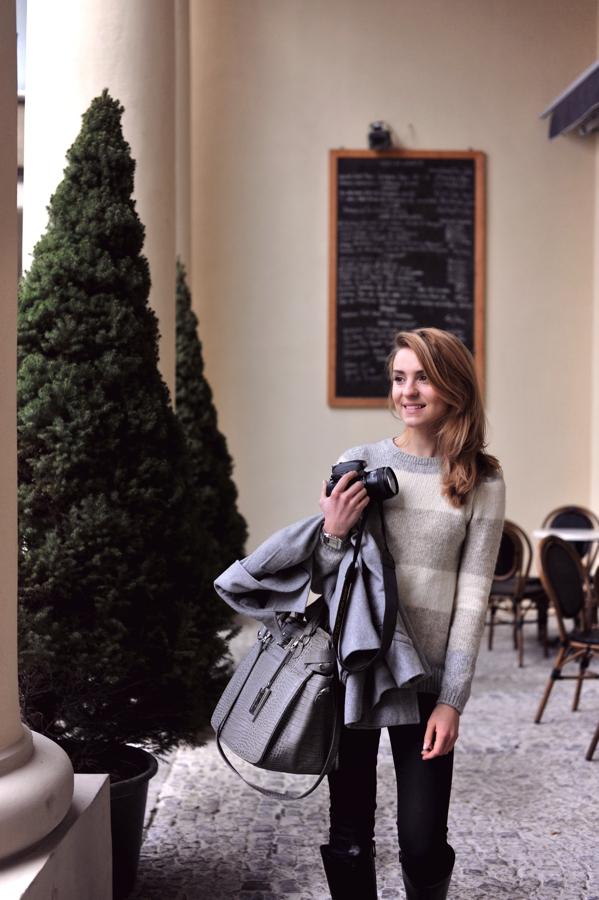 Kasia ubrana modnie
