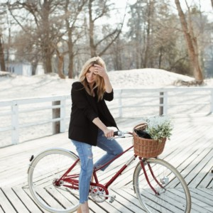 LOOK OF THE DAY – MY FIRST CYCLING DAY THIS YEAR