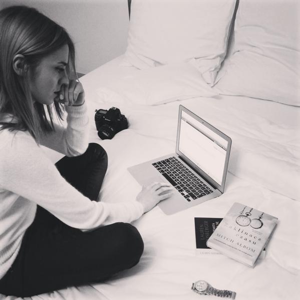 Kasia pisze bloga